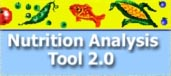 NAT Nutrition Analysis Tool created by Jim Painter